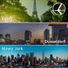 """""""Szalona Środa"""" LOT'u – 23.07.2014r. Paryż, Düsseldorf od 379 zł, Nowy Jork od 1999 zł."""