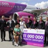 Wizz Air świętuje przewiezienie 11 milionów pasażerów w Katowicach