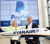 Nowy sposób płatności za bilety w Ryanair – będzie można płacić poprzez PayPal!