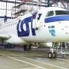 """Embraer 175 LOT w nowych barwach. Tym razem reklamuje musical """"Mamma Mia!""""."""