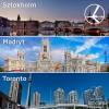 """""""Szalona Środa"""" LOT'u – 03.09.2014r. Sztokholm od 349 zł, Madryt od 499 zł oraz Toronto od 2199 zł."""
