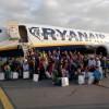"""Ponad setka maluchów – laureatów konkursu Ryanaira """"Marzenia uskrzydlają"""" – zobaczyła Gdańsk z lotu ptaka!"""