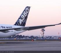 Samolot Airbus A350 XWB wyruszył w pokazową trasę po Azji