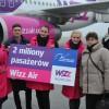 2 miliony pasażerów Wizz Air na trasie Gdańsk-Londyn Luton