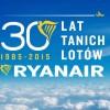 30 lat tanich lotów z Ryanair!