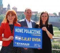 Ryanair poleci z Krakowa do Eljatu