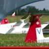 Na lotnisku AZM rozbił się szybowiec. Dwie osoby nie żyją.