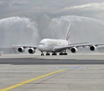 Linie Emirates otwierają drugie codzienne połączenie A380 do Frankfurtu