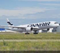 Pierwszy A350 linii lotniczych Finnair wykonuje dziewiczy lot