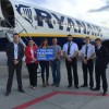 4 miliony pasażerów Ryanaira w Gdańsku!