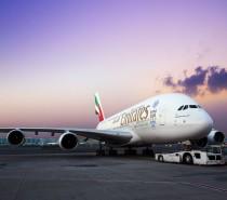 A380 Emirates będzie latał do Tajpej, Pragi i Birmingham