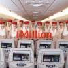 Emirates pierwszymi liniami lotniczymi z milionem obserwujących na Instagramie