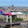 Piękne przeloty Airbusa A321 Wizz Air nad Dunajem!