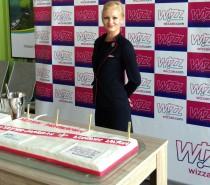Pierwszy lot Wizz Air z Mazur. Inauguracja połączenia z lotniska Olsztyn Mazury do Londynu Luton.