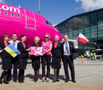 Wizz Air rozpoczyna operacje  na nowych trasach z Polski do Kijowa i Bari
