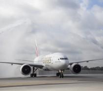 Linie Emirates lądują w Fort Lauderdale na Florydzie