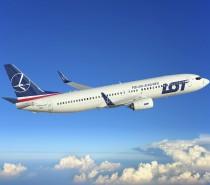 Pierwsze 6 tras, które będą obsługiwane przez nowe samoloty Boeing 737-800 NG LOT-u