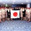 Linie Emirates świętują 15. rocznicę lotów do Japonii!
