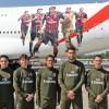 Linie Emirates i AC Milan sprawiły niespodziankę pasażerom