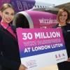 Pierwsza baza operacyjna Wizz Air w Wielkiej Brytanii
