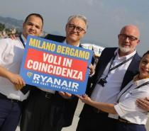 Ryanair wprowadza loty łączone na lotnisku Mediolan Bergamo!