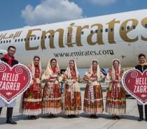 Emirates ląduje w Chorwacji