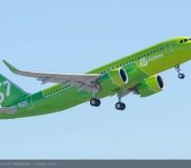 Linie lotnicze S7 odbierają swój pierwszy samolot A320neo!