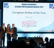 Tytuł Europejskiej Linii Lotniczej Roku dla Wizz Air!