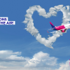 LOVE WIZZ IN THE AIR!