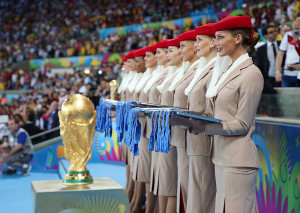 emirates-emirates-cabin-crew-line-up-with-the-2014-fifa-world-cup-winners-medals-ready-for-the-presentation