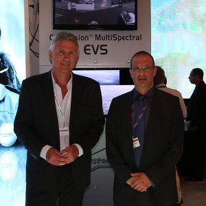 un_Ove Bratsberg, CEO of Nicarnica Aviation (left) and Yoram Shmueli, General Manager of Elbit Systems' Aerospace Division (right)