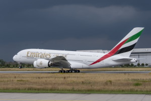 Airbus A380 Emirates msn-154-takeoff-ferry-credit-airbus-4-