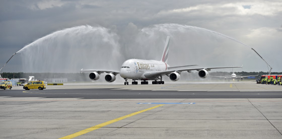 emirates-a380-lands-in-frankfurt