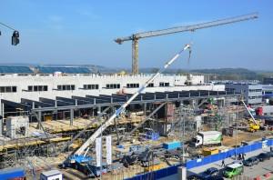 22_Budowa nowego terminalu Krakow Airport_pazdziernik 2014