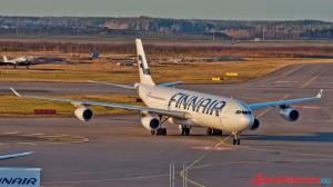 Helsinki Finnair Airbus A340
