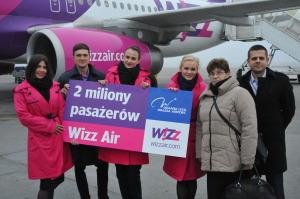 WIZ_2 miliony pasażerów Wizz Air