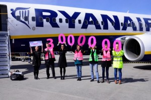 Ryanair 3mln pax Modlin