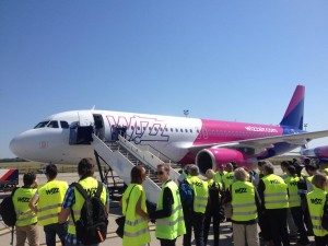 Wizz Air A320 new livery