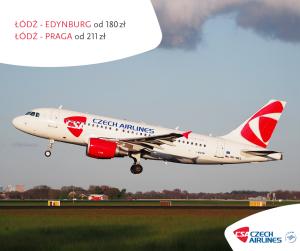 Czech Airlines Łódź