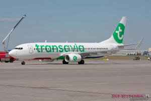 Transavia pierwszy lot 4