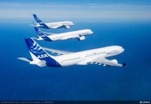 Airbus Widebody Family A330 - A350 - A380_